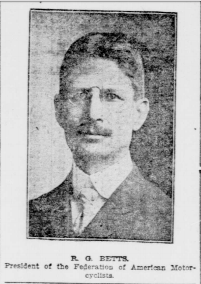 betts from ny tribute article 1903.